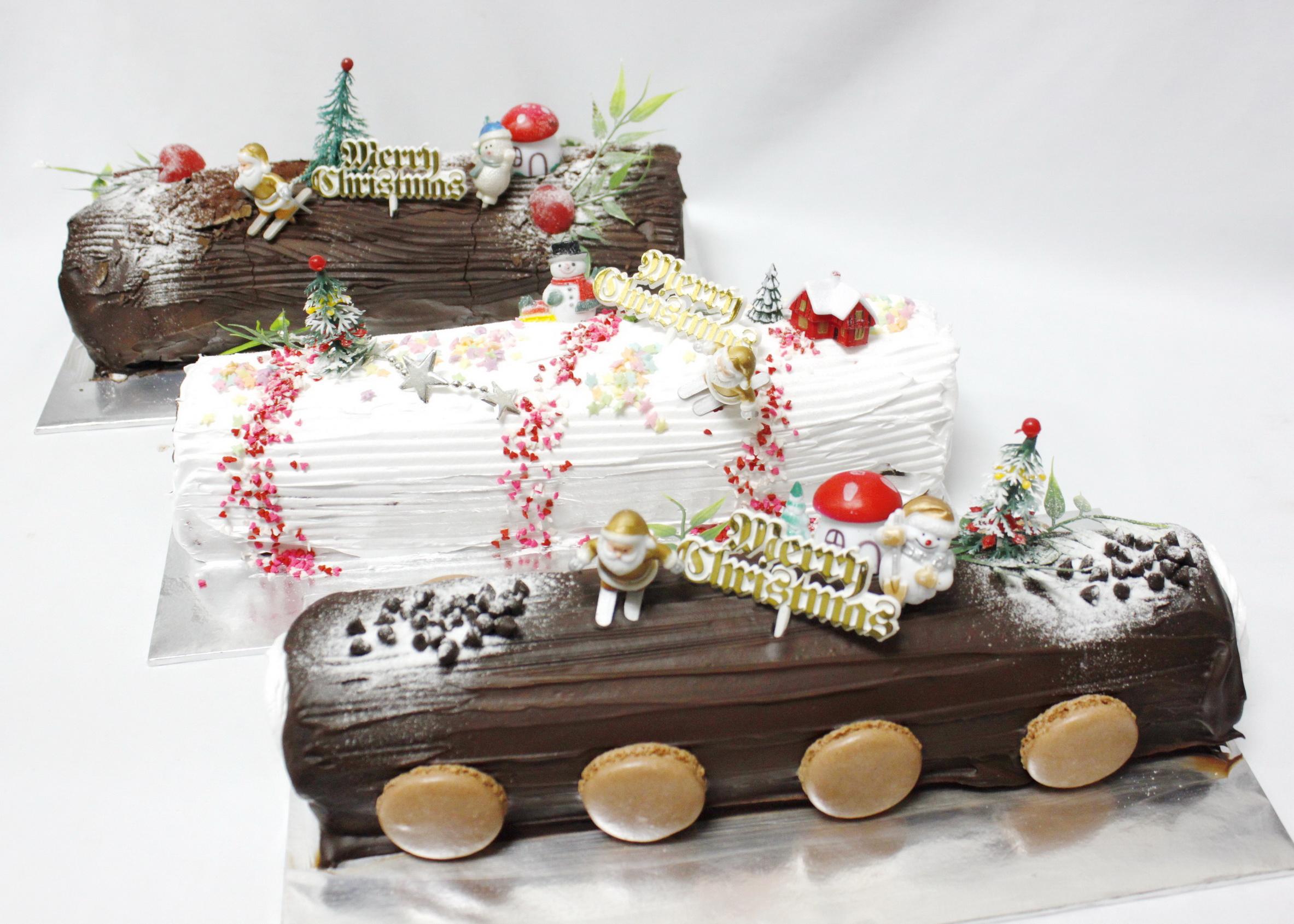 Chocolate Log Cake For Sale