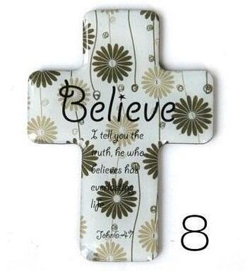 Christian Magnetic Sticker - Believe