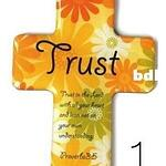 Christian Magnetic Sticker - Trust