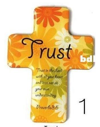 Christian Magnetic Sticker - Trust