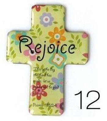 Christian Magnetic Sticker - Rejoice