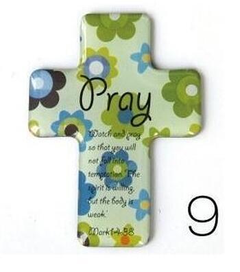 Christian Magnetic Sticker - Pray