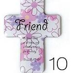 Christian Magnetic Sticker - Friend