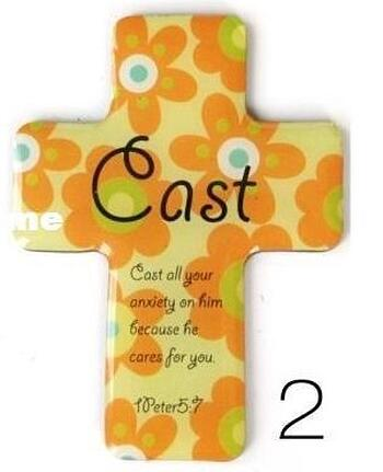 Christian Magnetic Sticker - Cast