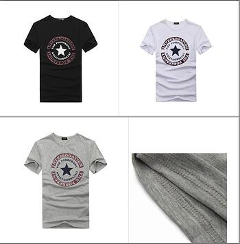 Casual Round Neck T Shirt
