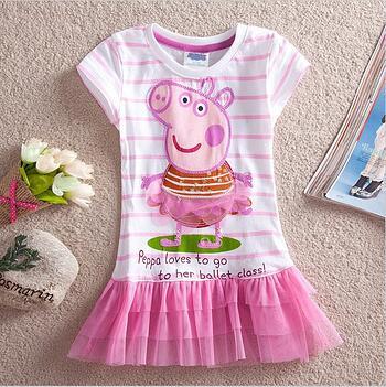Peppa Pig Pink Tutu Dress