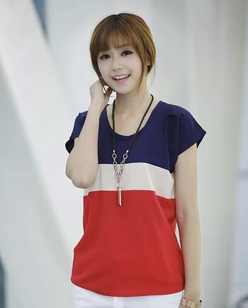 Chiffon Loose Tops for Woman