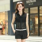 Lace Gauze Jumpsuit -CC01715