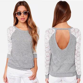 Woman Long Sleeve Blouse