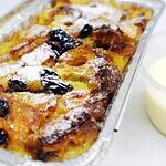 Bread Pudding with Vanilla Sauce