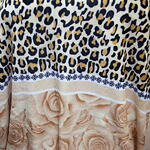 Blanket Leopard Spot and Roses