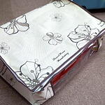 Printed Flowers Storage Bag