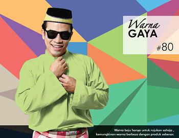 Baju Melayu -100 Warna Gaya 80 Green Size S