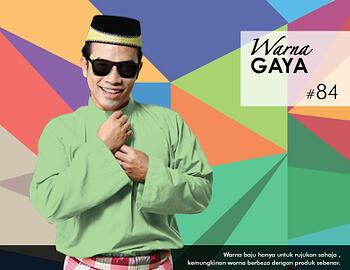 Baju Melayu -100 Warna Gaya 84 Green Size XXL
