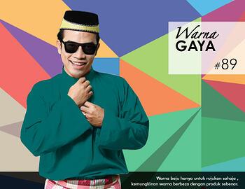 Baju Melayu -100 Warna Gaya 89 Green Size M