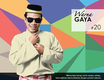 Baju Melayu -100 Warna Gaya 20 Yellow Size L