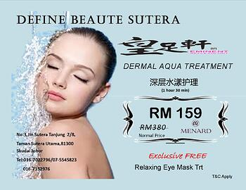 Derma Aqua Treatment @ Taman Sutera