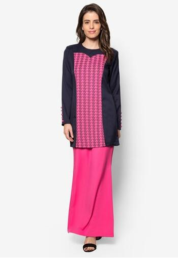 Baju Kurung Modern - GA834SU 7753 Pink XXL