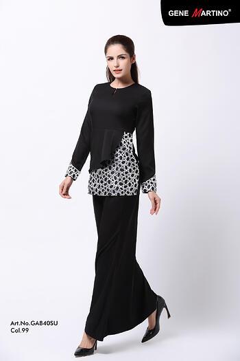 Baju Kurung Modern - GA840SU 99 Black XXL