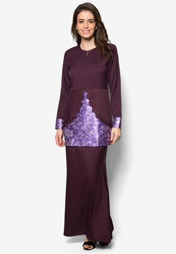 Baju Kurung Modern - GA832SU 69 Purple M