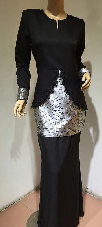 Baju Kurung Modern - GA832SU 99 Black S
