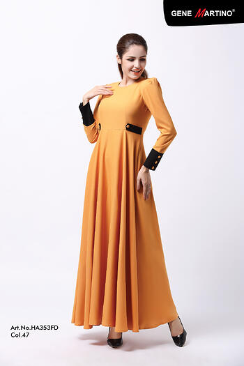Jubah Modern - HA353SU 47 Brown XL