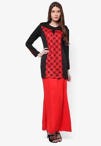 Baju Kurung Modern - GA835SU 57 Red L