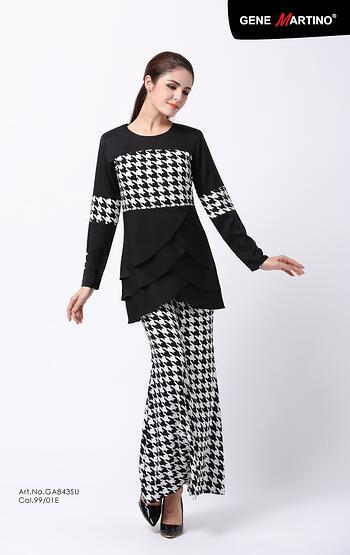Baju Kurung Modern - GA843SU 9901-E Black XS
